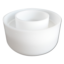 Форма для твердого сыра 2 кг - 56 отверстий