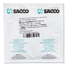 Мезо-термофильная закваска Sacco MOT 092/094 EE (10UC)
